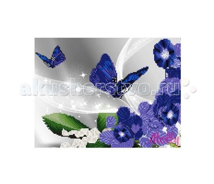 Творчество и хобби , Картины своими руками Molly Мозаичная картина Вечерние бабочки 30х40 см арт: 90507 -  Картины своими руками