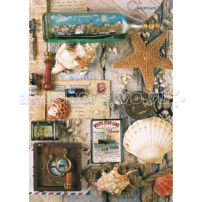 Пазлы Ravensburger Пазл Морские сувениры 1000 элементов сувениры