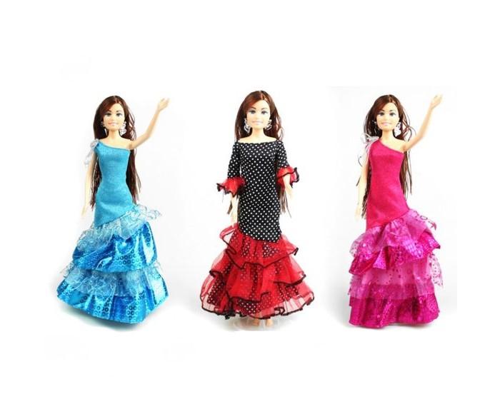 Куклы и одежда для кукол Наша Игрушка Платье для куклы Кармен 29 см куклы и одежда для кукол наша игрушка платье для куклы очарование 29 см
