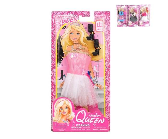 Куклы и одежда для кукол Наша Игрушка Платье для куклы Королевское с аксессуарами 29 см куклы и одежда для кукол наша игрушка платье для куклы очарование 29 см
