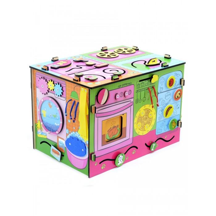 Деревянная игрушка Фабрика Мастер игрушек Бизиборд Я-хозяюшка фото
