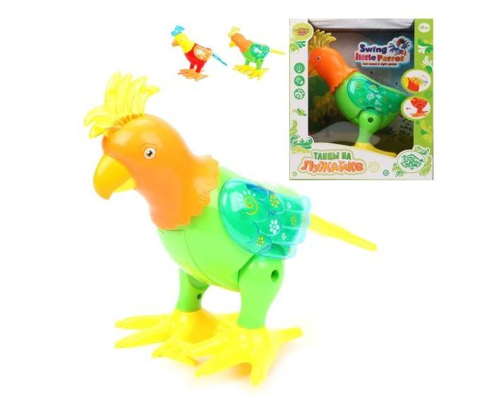 Купить Интерактивные игрушки, Интерактивная игрушка Наша Игрушка Попугай электрифицированный