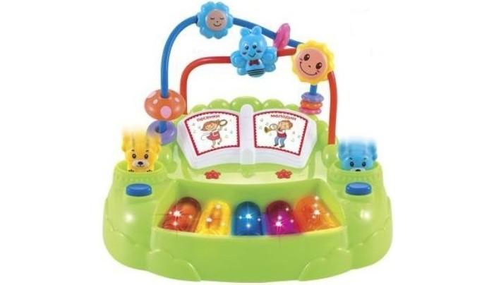 Музыкальные инструменты Наша Игрушка Веселое пианино Е-Нотка музыкальные инструменты наша игрушка микрофон е нотка