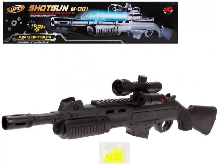 Игрушечное оружие Наша Игрушка Винтовка с фонарем 63 см игрушечное оружие abtoys винтовка м 16