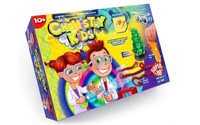 Купить Наборы для опытов и экспериментов, Danko Toys Набор для опытов 10 Магических экспериментов Chemistry Kids