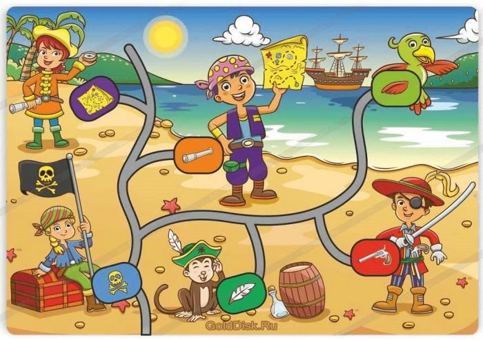 Деревянные игрушки Фабрика Мастер игрушек Лабиринт Дети-пираты