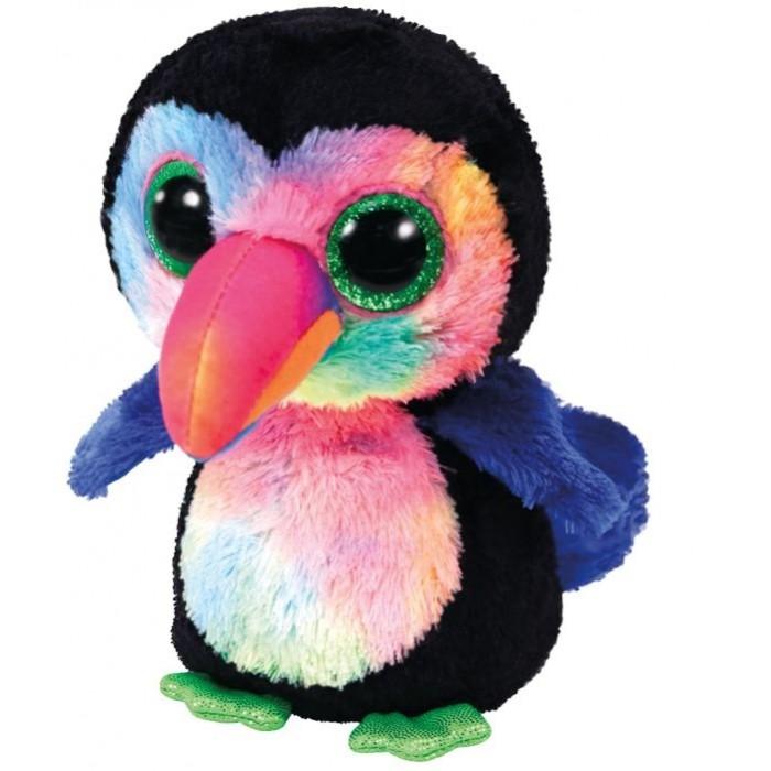 Мягкие игрушки TY Бикс птица тукан Beanie Boo's