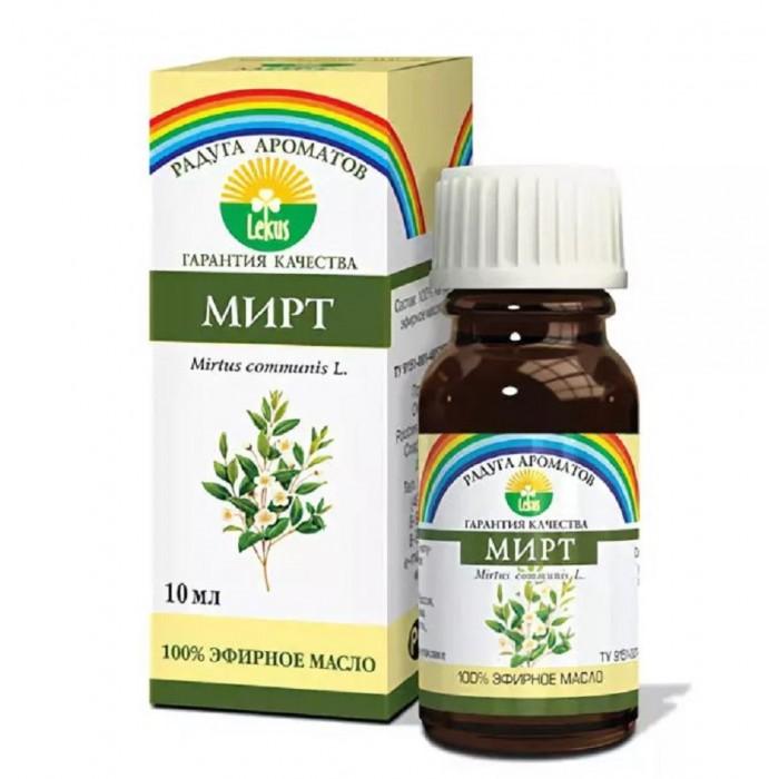 Косметика для мамы Lekus Эфирное масло Мирт 10 мл косметика для мамы dnc масло для ресниц укрепляющее 12 мл