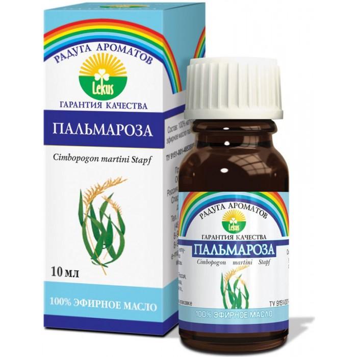 Косметика для мамы Lekus Эфирное масло Пальмароза 10 мл недорого