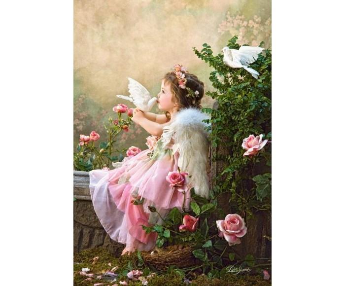 Пазлы Castorland Пазл Поцелуй Ангела 1000 элементов пазлы castorland пазл храм в санкт петербурге 500 элементов