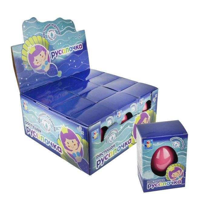 Развивающие игрушки 1 Toy Домашний инкубатор Яйцо с растущей Русалкой