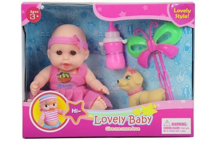 Куклы и одежда для кукол Наша Игрушка Пупс с аксессуарами 15 см куклы и одежда для кукол наша игрушка пупс с озвучкой и аксессуарами 30 см