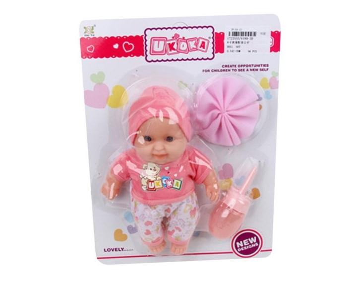 Куклы и одежда для кукол Наша Игрушка Пупс с аксессуарами 20 см 6189-3D куклы и одежда для кукол наша игрушка пупс с озвучкой и аксессуарами 30 см
