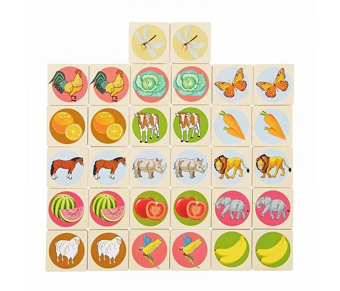 Деревянная игрушка Фабрика Мастер игрушек Мемори IG0155
