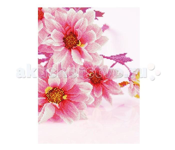 Картины своими руками Molly Мозаичная картина Розовое вдохновение 30х40 см, Картины своими руками - артикул:90651