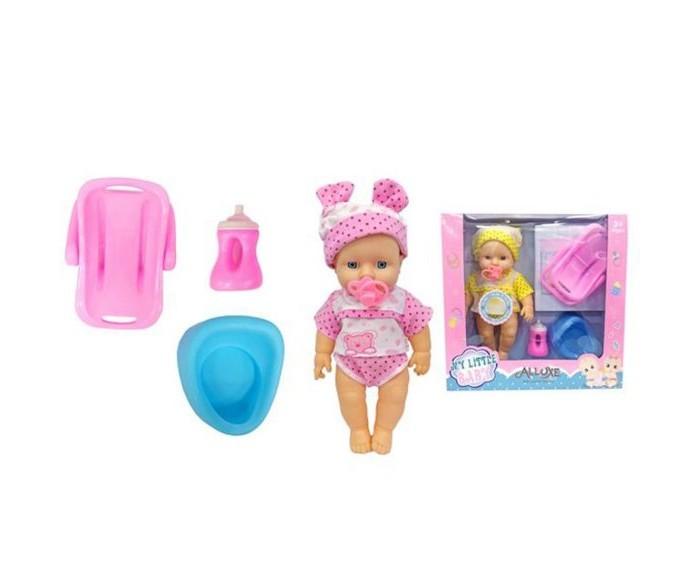 Куклы и одежда для кукол Наша Игрушка Пупс с озвучкой и аксессуарами 30 см куклы и одежда для кукол наша игрушка пупс с озвучкой и аксессуарами 30 см
