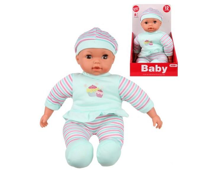 Куклы и одежда для кукол Наша Игрушка Пупс с озвучкой 30 см LD68005B куклы и одежда для кукол наша игрушка пупс с озвучкой и аксессуарами 30 см