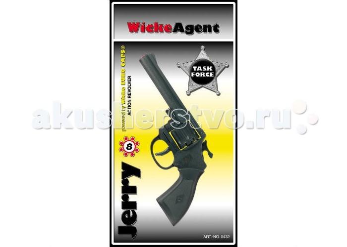 Фото - Игрушечное оружие Sohni-wicke Пистолет Jerry 8-зарядные Gun Western 192mm игрушечное оружие sohni wicke пистолет texas rapido 8 зарядные gun western 214mm