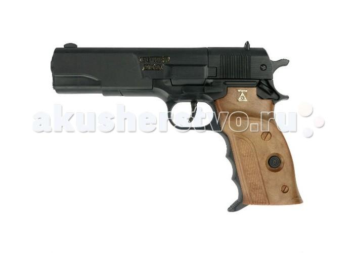 Фото - Игрушечное оружие Sohni-wicke Пистолет Powerman 8-зарядные Gun Agent 220mm игрушечное оружие sohni wicke пистолет texas rapido 8 зарядные gun western 214mm