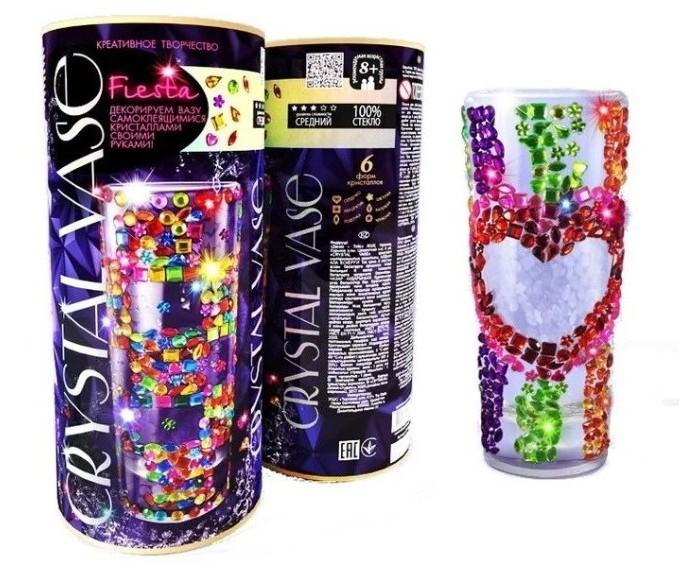 Наборы для творчества Danko Toys Набор креативного Crystal Vase Ваза своими руками