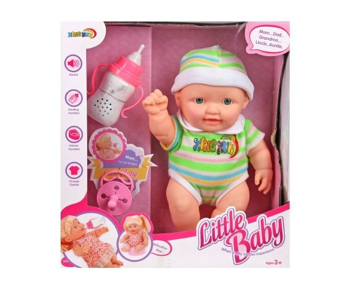Куклы и одежда для кукол Наша Игрушка Пупс с аксессуарами 35 см 5001 куклы и одежда для кукол наша игрушка пупс с озвучкой и аксессуарами 30 см