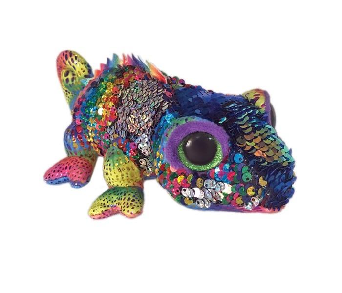 Купить Мягкие игрушки, Мягкая игрушка TY Карма хамелеон с пайетками 25 см