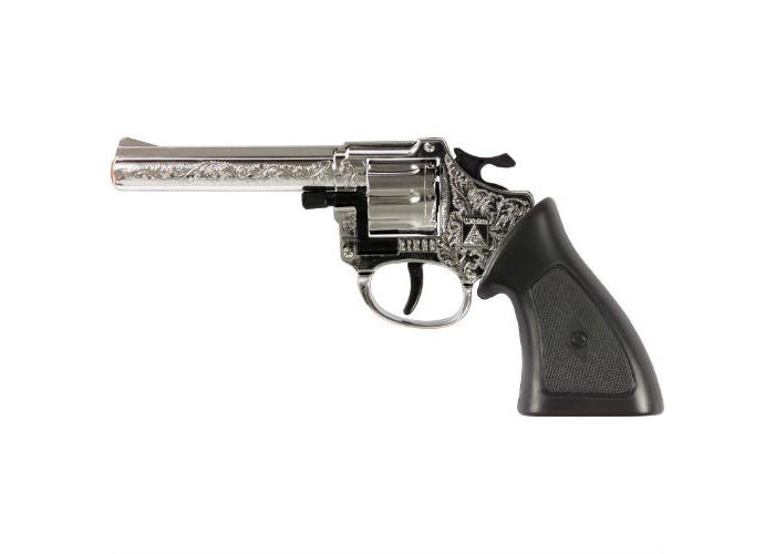 Игрушечное оружие Sohni-wicke Пистолет Ringo Агент 8-зарядные Gun ХРОМ Western 198mm игрушечное оружие sohni wicke пистолет rodeo агент 100 зарядные gun western 198mm