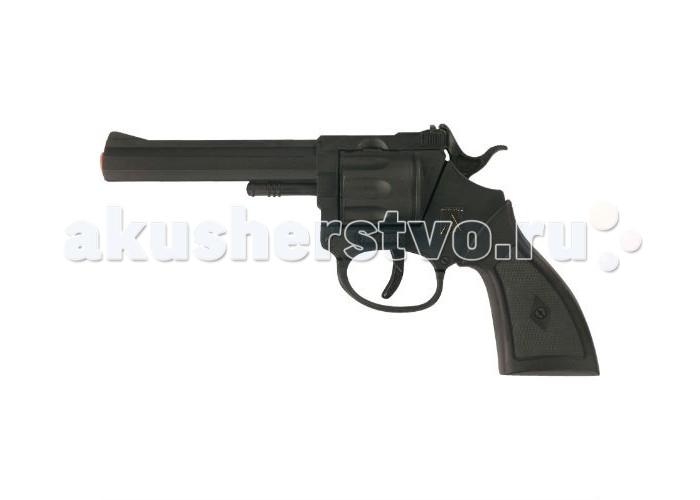 игрушечное оружие Игрушечное оружие Sohni-wicke Игрушечное оружие Пистолет Rocky 100-зарядные Gun Western 192mm в коробке
