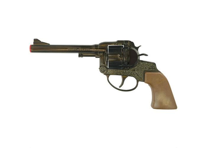 Фото - Игрушечное оружие Sohni-wicke Пистолет Super Cowboy 12-зарядные Gun Western 230mm игрушечное оружие sohni wicke пистолет texas rapido 8 зарядные gun western 214mm
