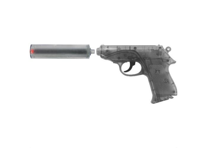 Фото - Игрушечное оружие Sohni-wicke Пистолет Специальный Агент PPK 25-зарядные Gun с глушителем игрушечное оружие sohni wicke пистолет texas rapido 8 зарядные gun western 214mm