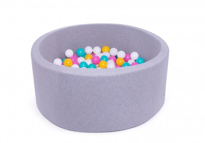 Anlipool Сухой бассейн с комплектом шаров №44 Bright rainbow фото
