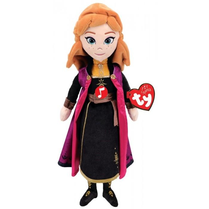 Купить Мягкие игрушки, Мягкая игрушка TY со звуком Анна принцесса Холодное сердце 2 30 см