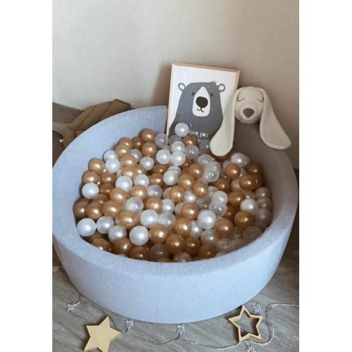 Anlipool Сухой бассейн с комплектом шаров Golden sand фото