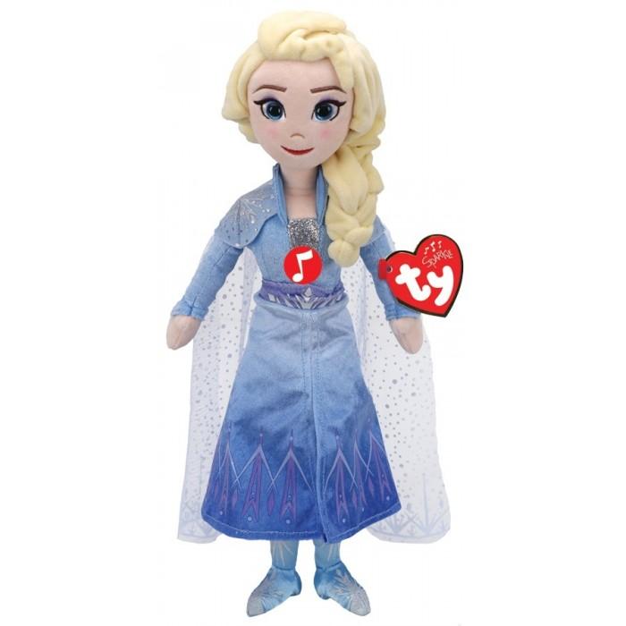 Купить Мягкие игрушки, Мягкая игрушка TY со звуком Эльза принцесса Холодное сердце 2 30 см