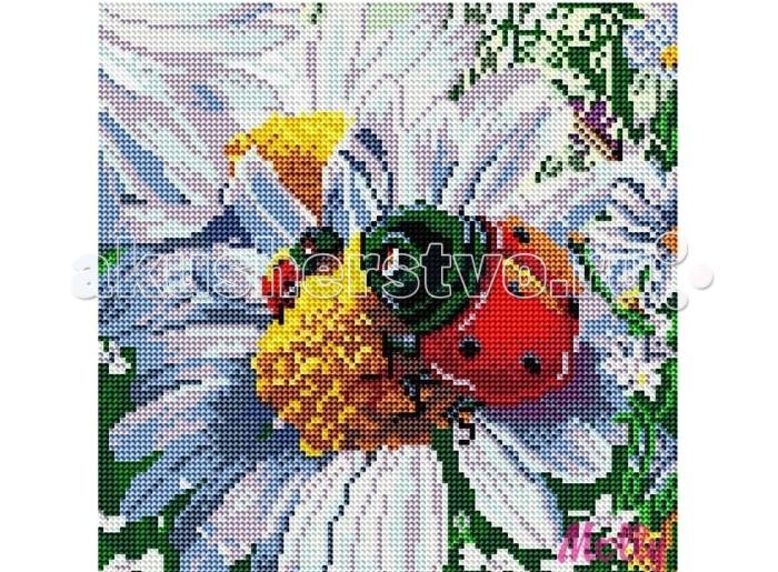 Molly Картины со стразами 2.8 мм Божья коровка