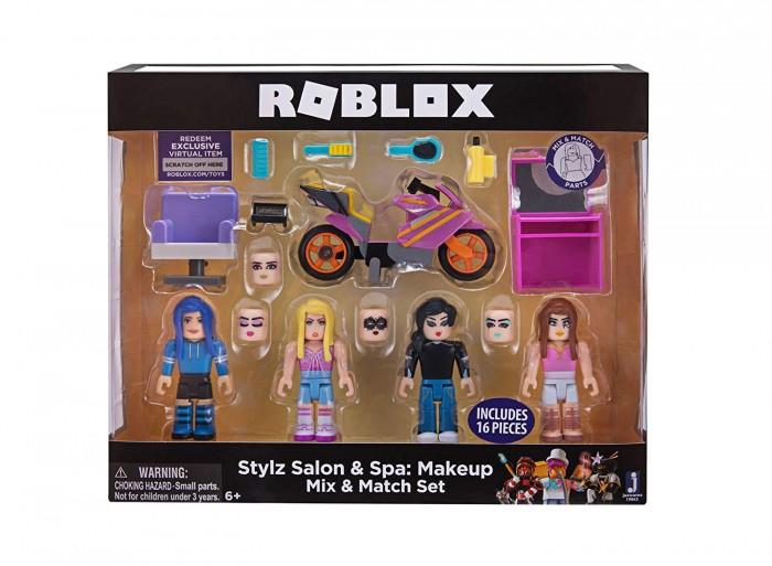 Игровые фигурки Roblox Большой набор Стилз Салон Макияж