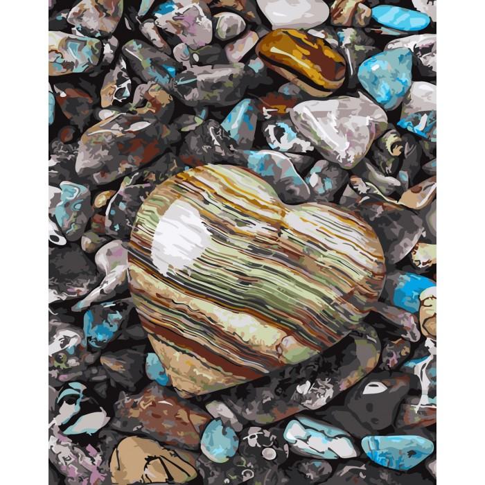 Картины по номерам Paintboy Картина по номерам Морские камешки