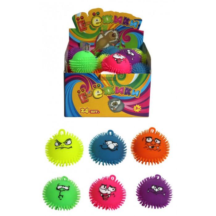 Картинка для Развивающие игрушки 1 Toy Ё-Ёжики Забавные рожицы 12 см