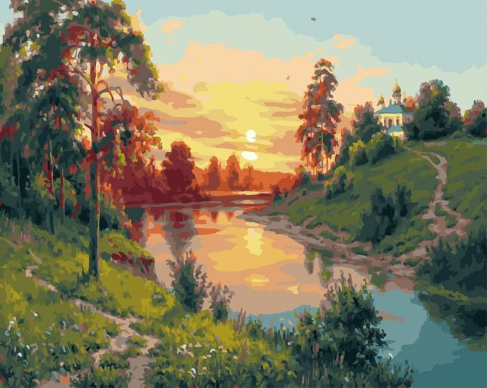 Картины по номерам Paintboy Картина по номерам Русский пейзаж картина картины в квартиру carolina parrot 1841г бумага