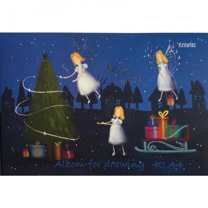Принадлежности для рисования Kroyter Альбом Рождество 40 листов А4