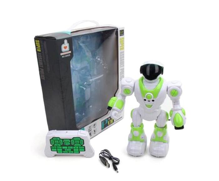 Фото - Роботы Наша Игрушка Робот радиоуправляемый 6002E роботы наша игрушка робот 6678 1