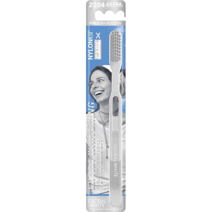 Фото - Гигиена полости рта Global White Зубная щетка Еxtra whitening зубная паста global white whitening max shine 100g