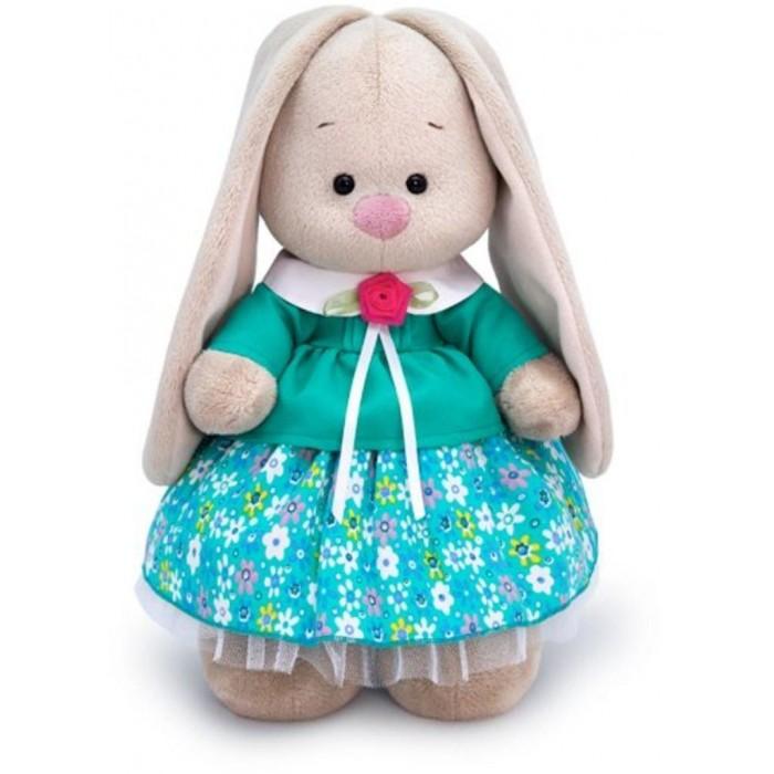 Купить Мягкие игрушки, Мягкая игрушка Budi Basa Зайка Ми в бирюзовой курточке 25 см