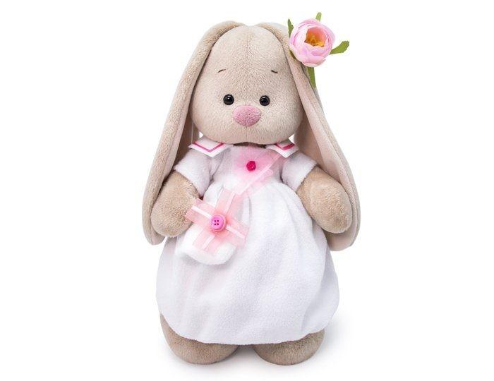 Купить Мягкие игрушки, Мягкая игрушка Budi Basa Зайка Ми в платье с сумочкой 25 см