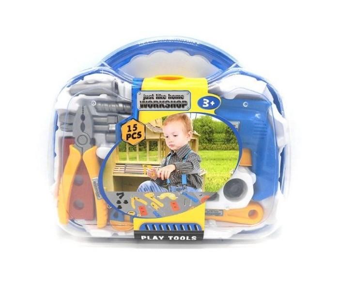 Ролевые игры Наша Игрушка Набор инструментов (15 предметов) набор инструментов kraft professional с сумкой 23 предметов