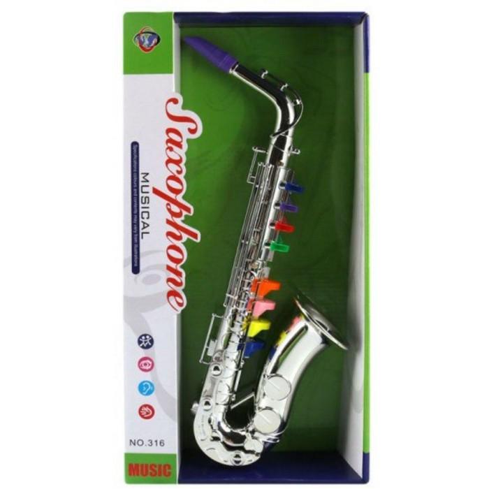 Купить Музыкальные инструменты, Музыкальный инструмент Наша Игрушка Саксофон