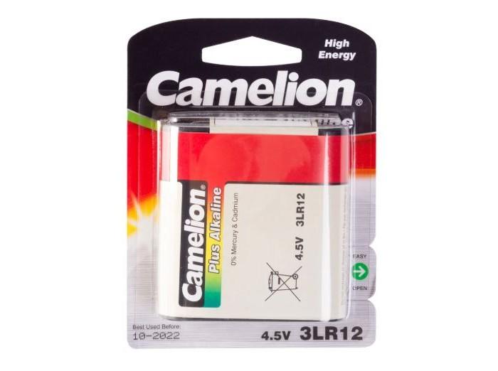Батарейки, удлинители и переходники Camelion Батарейка 3LR12-BP1