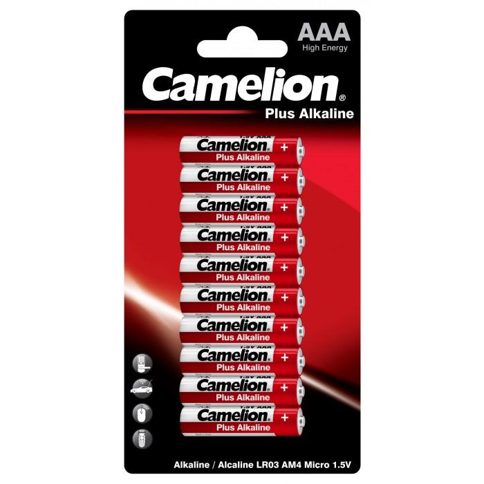 Батарейки, удлинители и переходники Camelion Батарейка LR03-BP10 батарейка camelion ag9 10 шт блистер