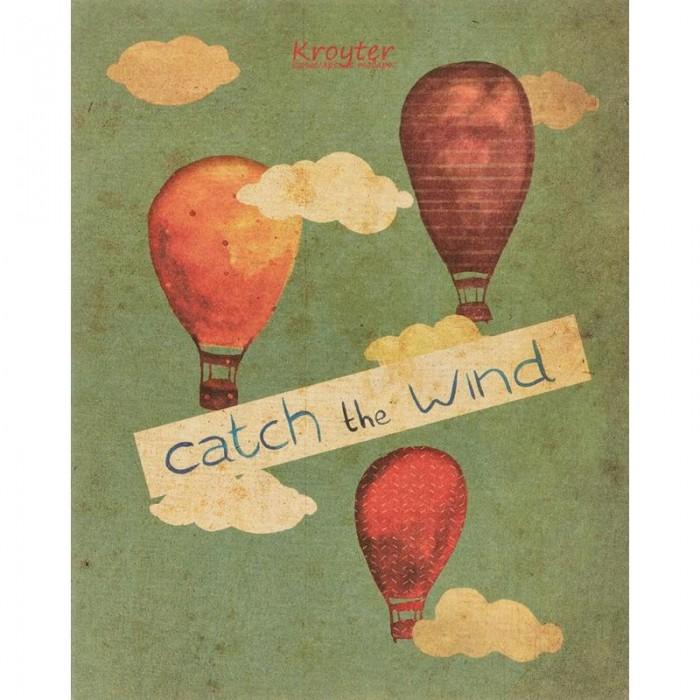 Тетради Kroyter Тетрадь общая Catch the wind 48 листов А5