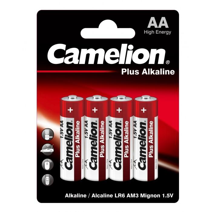 Батарейки, удлинители и переходники Camelion Батарейка LR6-BP4 батарейка camelion ag9 10 шт блистер